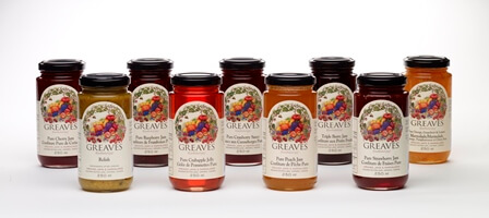 Greaves Jams and Jellies